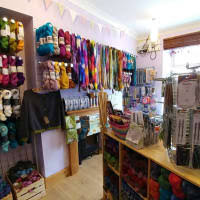 Neath Valley Wools knitting shop Glynneath